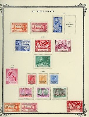 ST KITTS & NEVIS Album Page Lot #SPEC6 - SEE SCAN - $$$