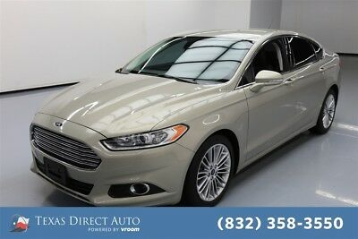 2015 Ford Fusion SE Texas Direct Auto 2015 SE Used Turbo 1.5L I4 16V Automatic FWD Sedan