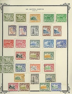 ST KITTS & NEVIS Album Page Lot #SPEC8 - SEE SCAN - $$$