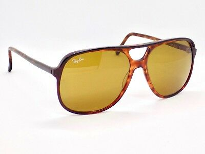 1990's B&L Ray Ban Traditionals Style B Aviator, L1672 Sunglasses & Case
