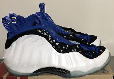 e3ae02f8c62 Nike Air Foamposite One Shooting Star White Black Blue Mens Size 11  679085-101