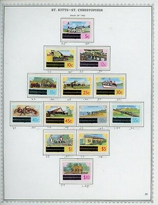 ST KITTS & NEVIS Album Page Lot #SPEC31 - SEE SCAN - $$$