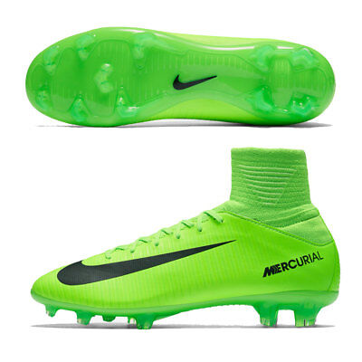 cheap for discount 1b565 26a42 Nike Jr Mercurial Superfly V FG UK Size 5 EUR 38 Kids Football Boots Cleats