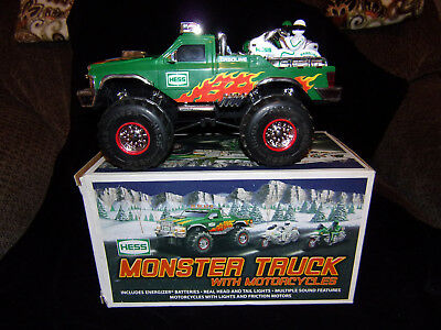 2007 Hess Toy Monster Truck And Motorcycles