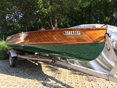 1956 Whirlwind 14' boat with Trailer