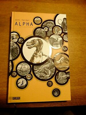 Alpha von Jens Harder    * Hardcover * Sprache: DEUTSCH