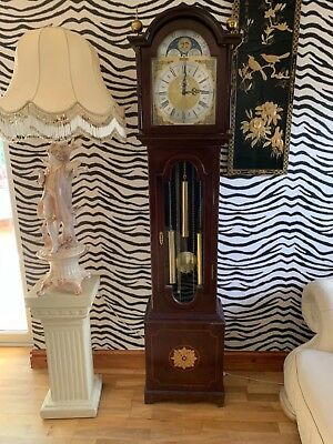 Richard Broad Brass Dial Westminster Chime Longcase Grandfather Clock