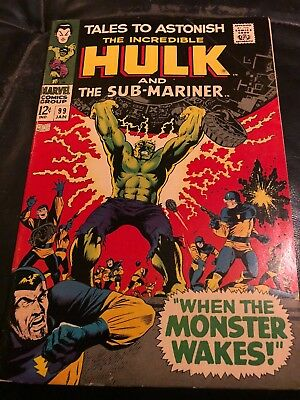 Tales to Astonish # 99  When the Monster Wakes !  Silver Age Classic