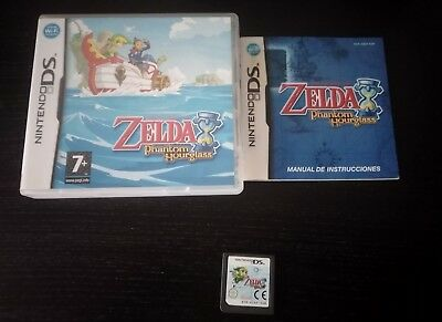 Juego Nintendo Ds The Legend Of Zelda Phantom Hourglass Nds Eur 12