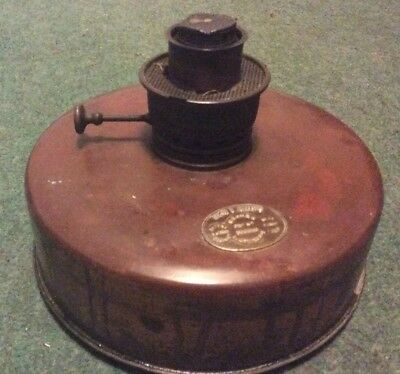 Hollands's Copper Oil Lamp Base
