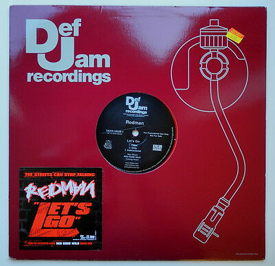 "12"" Us**redman - Let's Go (Def Jam Recordings '06 / Red Vinyl / Promo)***15822"