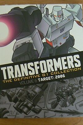Marvel Graphic Hardback Book - Transformers: The Definitive G1 Collection Vol 6