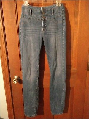 NWT 7 For All Mankind Women/'s High Waist Skinny ContrWB Jean Sz24//27//28 Blk//Wht