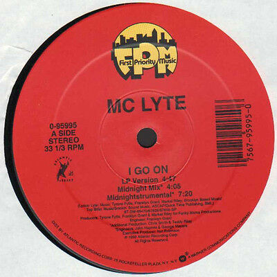 "12"" Us**my Lyte - I Go On / Ruffneck (First Priority Music '93)***16402"