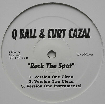 "★★12"" Us**q Ball & Curt Cazal - Rock The Spot / Live & Let Die ★★21761"