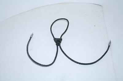 Obsidian point bolo tie......... v5b82 ...... One of a kind Western wear......