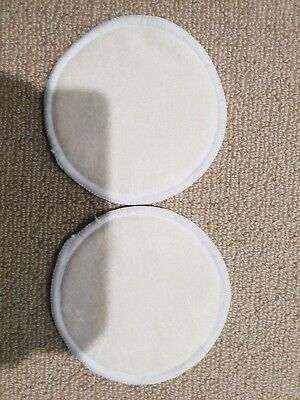 Bamboo Reusable Breast Pads - Washable Nursing Pads for Breastfeeding