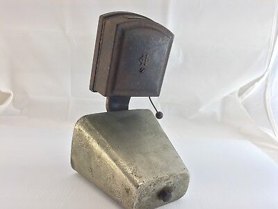 Vintage HOLTZER-CABOT ELECTRIC CO Fire Alarm Door Bell Type S 12 Volts