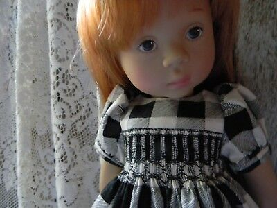 Pretty Smocked Dress for a Natterer by Gotz & a Kidz n Cats...by lkb