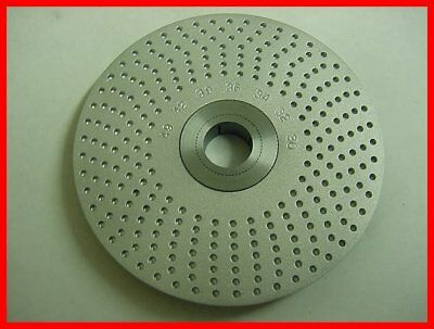 "Index Plate 1/8"" x 3.6"" Dia. Sherline - Watchmaker - Clockmaker lathe - 49"