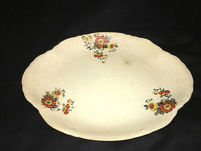 VINTAGE Clinchfield China Serving Platter Beautiful Design. NR