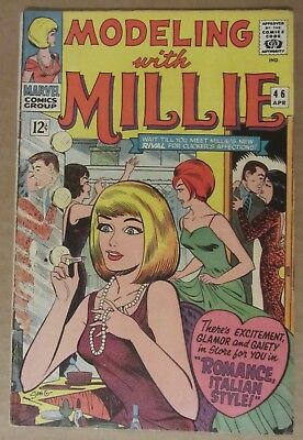Modeling with Millie #46 (1966, Marvel) FN- 5.5..See description for discounts