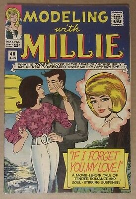 Modeling with Millie #40 (1965, Marvel) VF- 7.5...See description for discounts