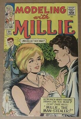 Modeling with Millie #39 (1965, Marvel) FN 6.0...See description for discounts