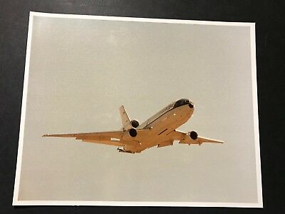 Kc-10 Usaf Tanker In Flight-Mcdonnell Douglas Produced Photo Gem Mint!