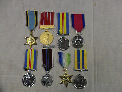 #167. WWI & other period reproduction British campaign medals, nice lot.