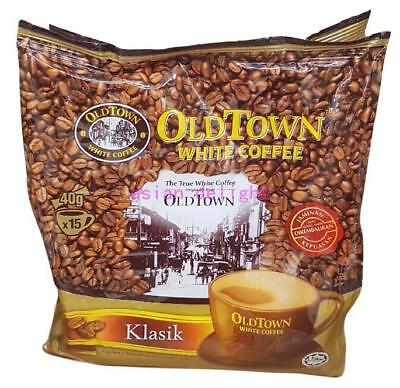Old Town White Coffee Oldtown Malaysia Classic 3 in 1 Instant coffee (40g x15s)