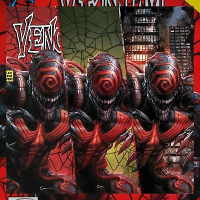 Venom #1 Annual Clayton Crain Variant Set Covers Abc Oct 2018 Nm/better Red Hot