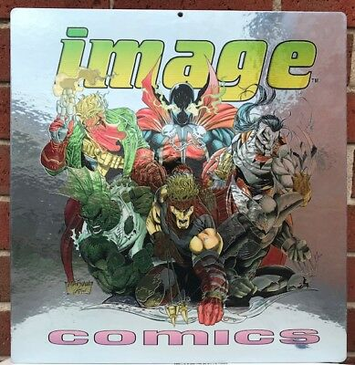 Image Comics Display Decal - Spawn Cyberforce Savage Dragon Shadowhawk Wildcats