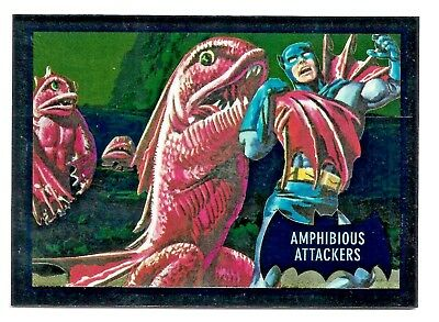 2016 Cryptozoic DC Justice League Batman Classic TV series Cryptomium Card DC7-8