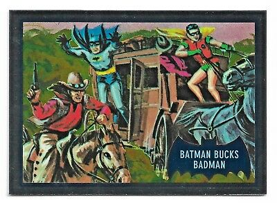 2018 Cryptozoic DC Batman Classic TV Series Blue Bats Reissue Cryptomium DC9-6