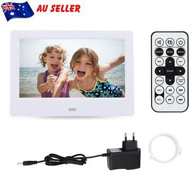 7 Inch LED HD Electronic Digital Photo Frame Picture Photography MP3 MP4 Player
