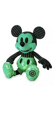 Disney Plush Mickey Mouse Memories October Limited Edition 90th Aniversary