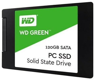 "WD Green SSD WDS120G2G0A  120 GB 2.5"" SSD (Solid State Drive)"