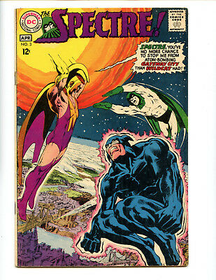Spectre 3  Great Neal Adams cover and interiors.  Solid FN 6.0
