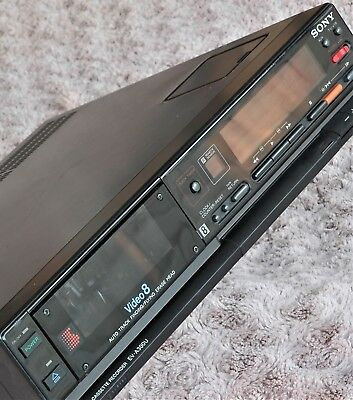 SONY 8MM VIDEO8 Video 8 Recorder Player Deck Time Lapse