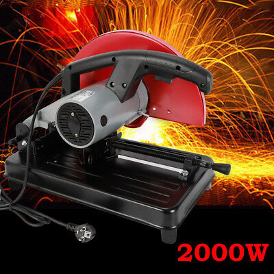 "New 14"" Portable 350 Abrasive Cut-Off Chop Saw 3900 Rpm 220V 2000W TOP!!"