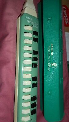 TOP Hohner Melodica Soprano gebraucht Made in Germany-2 Spielhefte-Top Zustand