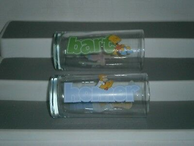 G129  Collectables 2 Diff.The Simpsons  Glasses