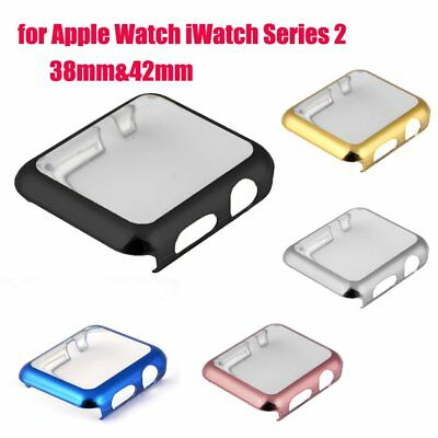 Apple iWatch series 2 38/42mm Full Screen Bump Case Hard Cover Protector XK