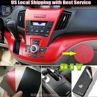 MATTE GRAIN LEATHER Skin Textured Vinyl Wrap Sticker for Interior Car Phone  ABUS