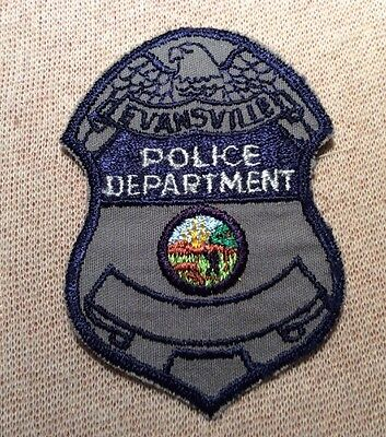 IN Evansville Indiana Police Patch (3.25In)