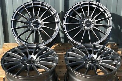 "18"" GM FORCE 5 ALLOY WHEELS FITS 5x112 AUDI A3 S3 A4 S4 B5 B6 B7 B8 B9 A6"