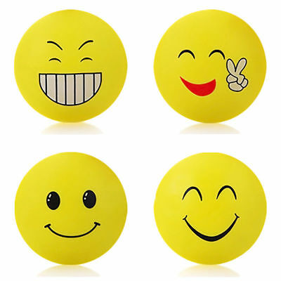 Cute Open Smile Face Silicone Door Handle Crash Pad Rubber Anti Collision Stick
