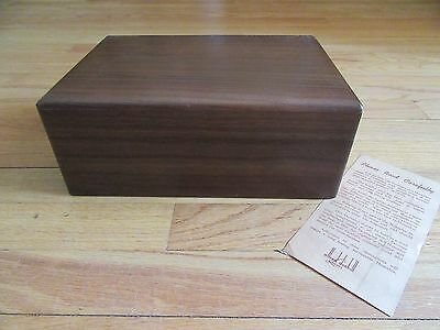 7J/vtg Alfred Dunhill(?) Wood Humidor/cigar Box/nice Condition!
