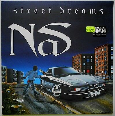 "12"" Uk**nas - Street Dreams (Columbia '96)**27749"